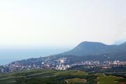 9, 5 соток в Лучистом (Алушта,  Крым). Панорамный вид на море и горы! Все коммуникации!