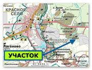 Продаю участок — 8 соток,  Красное Село,  на 7 км Пушкинского шоссе